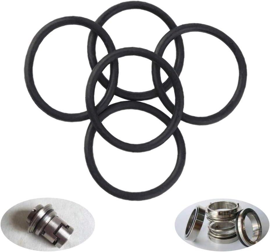 3 mm a 22 mm Junta T/órica Negra Sprie/ßen 225 PCS Juntas Toricas de Goma O Ring se utilizan en inodoros juntas de sif/ón conexiones de grifer/ía 18 tama/ños Arandela de Sellado