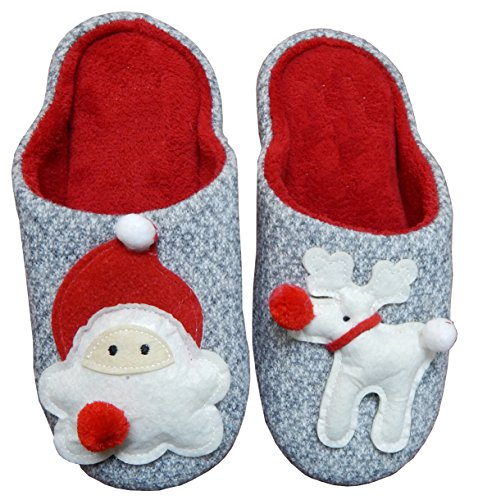 Woman's Santa Cute Woman's Super Super Slipper PqSRTwFR