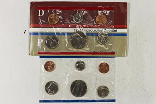 1984 US 10 Piece Mint Set in original packaging from US mint Uncirculated ()