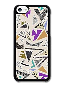 MMZ DIY PHONE CASECool New Hipster Grunge Shapes Geometric Print case for ipod touch 4