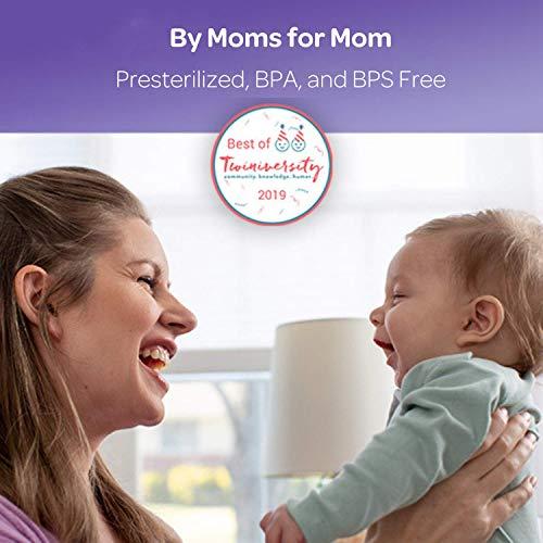 Lansinoh Breastmilk Storage Bags, 100 Count (1 Pack of 100 Bags), Milk Freezer Bags for Long Term Breastfeeding Storage, Pump Directly into Bags, Nursing Essentials