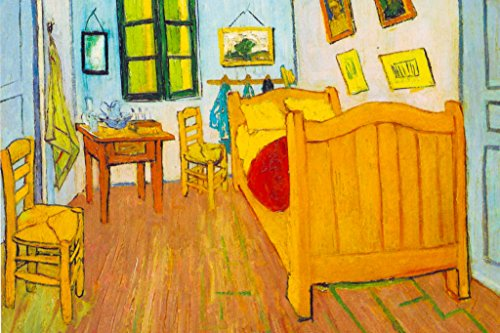Vincent Van Gogh Bedroom in Arles 1888 Oil On Canvas Post Impressionist Painting Poster