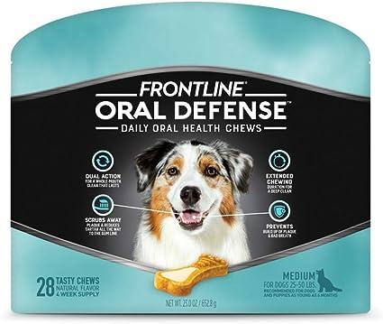 Amazon Com Frontline Oral Defense Daily Dental Chews For Medium