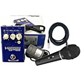TC-Helicon Harmony Singer All-In-One Compact Vocal Harmony Pedal w/ Power Supply, XLR Cable, and Dynamic Microphone!