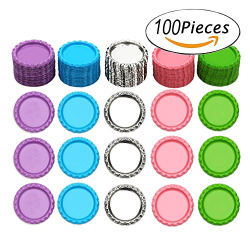 "Bottle Caps for Crafts Hair Bows 1"" Flattened Decorative ..."