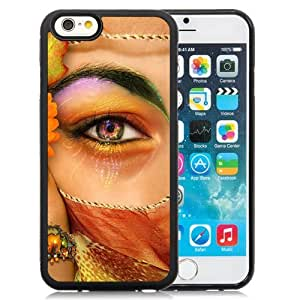 New Personalized Custom Designed For iPhone 6 4.7 Inch TPU Phone Case For Beautiful Eye Makeup Phone Case Cover