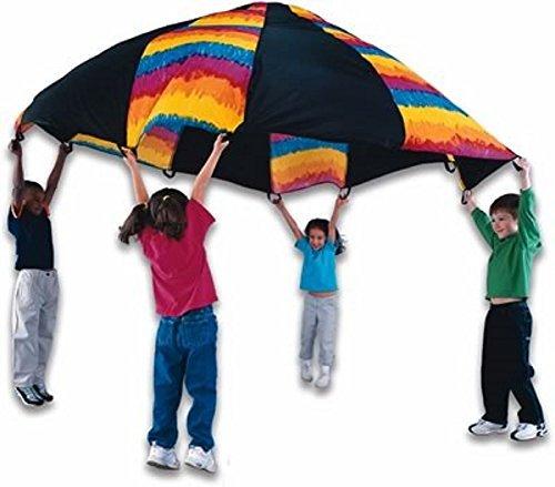 Fun Gripper 10'' Tie Dye Parachute By : Saturnian I