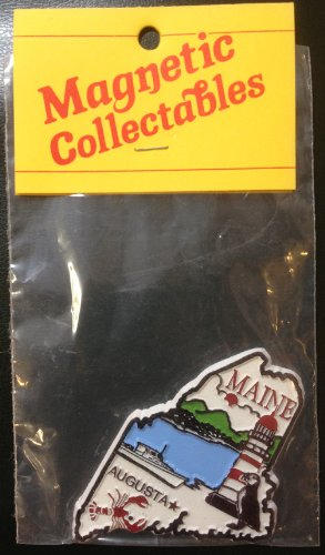 State of Maine USA collectable magnet (Collectible Magnet)