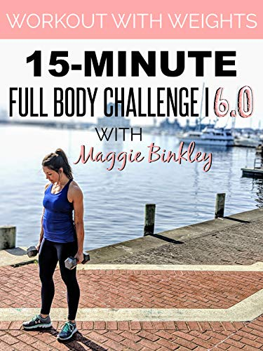 15-Minute Full Body Challenge I 6.0 Workout (with weights) (Full Body Workout Video)