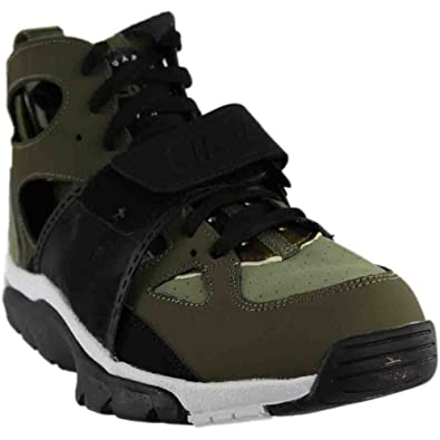 best loved 693fa f2c36 NIKE Air Trainer Huarache Mens Cross Training Shoes 679083-200 Medium Olive  Black-Jade