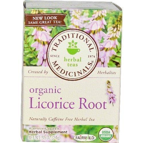 Traditonal Medicinals Organic Licorice Root Tea 3 pk by Traditonal Medicinals