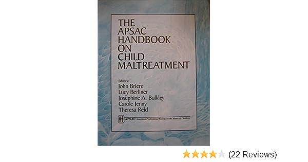 the apsac handbook on child maltreatment