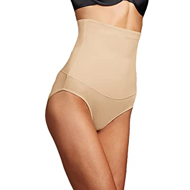 c9a3150f707 Flexees by Maidenform Women s Plus Fat Free Dressing Hi Waist Brief at Amazon  Women s Clothing store