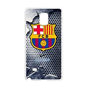 FC Barcelona Cool Design Samsung Galaxy Note4 Cell Phone Cases Cover Popular Gifts(Laster Technology)