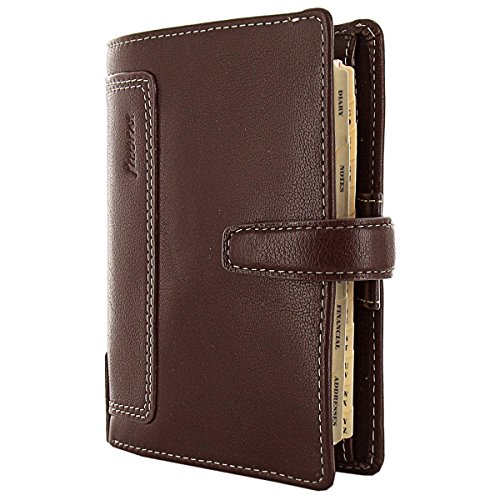 Filofax Holborn Pocket Leather Organizer Brown (025119) by Filofax