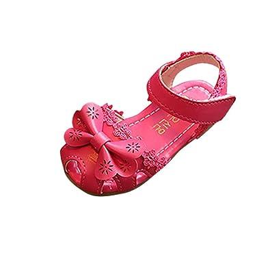 1ec936f6aa1b1 HHei K Children Cute Lace Bowknot Flat Princess Sandals Girls Cross Strap  Floral Sandals Casual Single Shoes