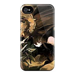 Durable Defender Case For Iphone 4/4s Cover(kill Dragon)