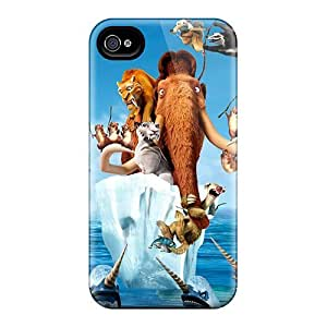 Hot Fashion TqE1467iSfC Design Case Cover For Iphone 4/4s Protective Case (ice Age 4 Continental Drift Movie)