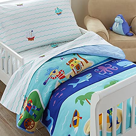 51BhYRyATrL._SS450_ Pirate Bedding Sets and Pirate Comforter Sets