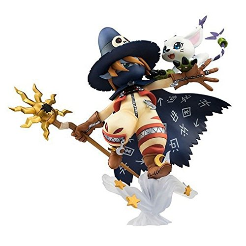 TONGROU Adventure Wizarmon & Tailmon PVC Figure With Retail Box