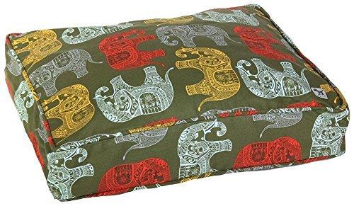 Molly Mutt Elephant Parade Dog Duvet, (Cotton Pet Beds)