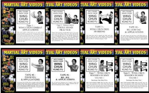 WING CHUN KUNG FU DVD SET - VIDEOS 1 to 8 by ESPY-TV, Inc.