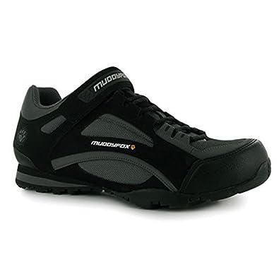Muddyfox - Zapatillas de Ciclismo para Hombre Negro Negro y Gris ...