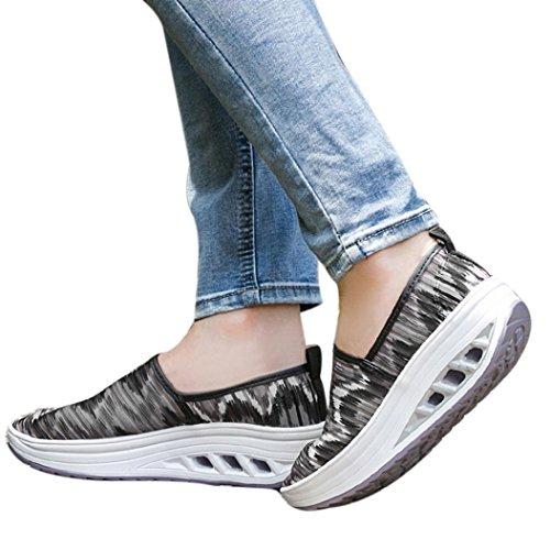 Logobeing de Mezclilla Zapatillas Plataforma Malla de Zapatos Zapatos A Mujeres Mujeres Casuales Fitness de de con Deporte para Zapatos r7rxCqPw