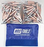 500 1/4 Heavy Duty Cleco Sheet Metal Fasteners w/ Mesh Carry Bag (KHD2S500-1/4)