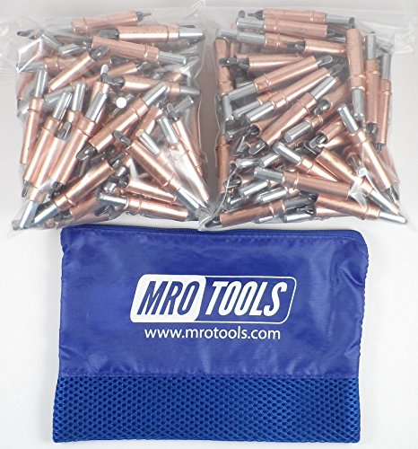 450 1/4 Heavy Duty Cleco Sheet Metal Fasteners w/ Mesh Carry Bag (KHD2S450-1/4) by MRO Tools Cleco Fasteners