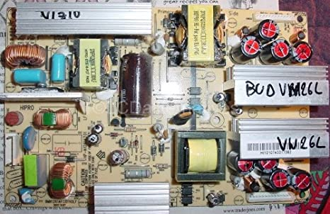 Repair Kit Vizio Vw26l Lcd Hd Tv Capacitors Not The Entire Board