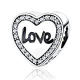 "Best Fit Pandora Charms Friend Heart Charms - XingYue Jewelry Friendship""Best Friend"" BFF Claddagh Charms Bead Review"