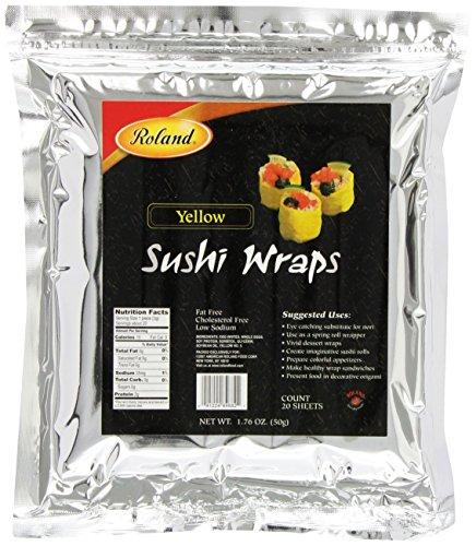 Roland Sushi Wraps Yellow Sheets