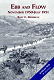Book cover for Ebb and Flow : The United States Army in the Korean War : November 1950 - July 1951