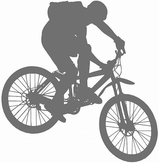 DIY Impermeable Desmontable Bicicleta de montaña Pegatinas de ...