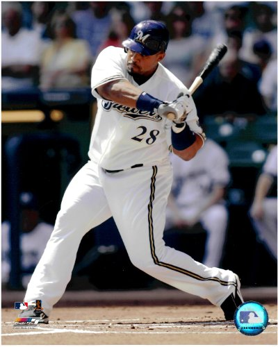 Prince Fielder Milwaukee Brewers Unsigned Licensed Baseball Photo (Fielder Prince Brewers)