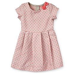 Carter's Girls Jacquard Polka Dot Dress