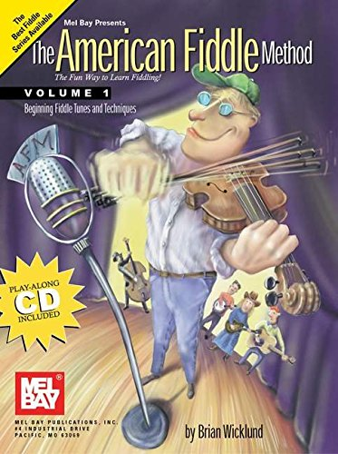 Mel Bay American Fiddle Method, Vol. 1 (Book & CD)