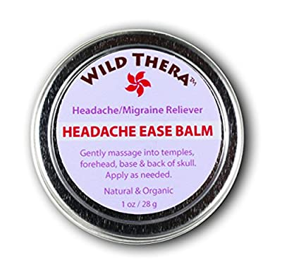 Headache Ease Balm-Natural Herbal Relief- No Tension, Discomfort, Stress & Anxiety