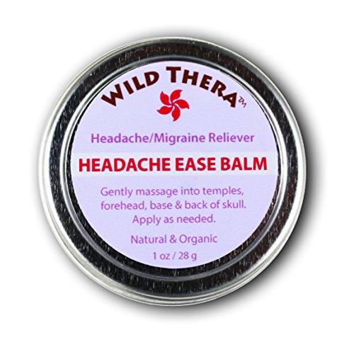 51BhdzDAAdL - Headache Ease Balm-Natural Herbal Relief- No Tension, Discomfort, Stress & Anxiety