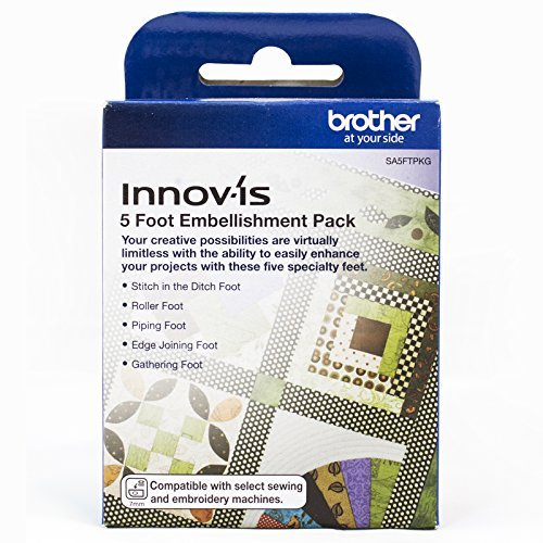 Brother 5 Foot Embellishment Pack