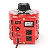 20 Amp Variable Transformer, 2000va Max, 0~130 Volt Output - EX ELECTRONIX EXPRESS