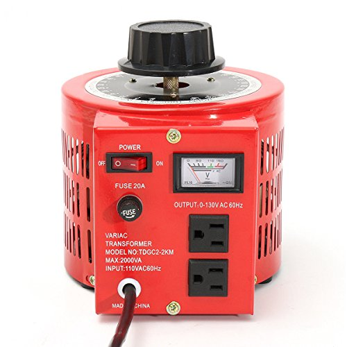 20 Amp Variable Transformer, 2000va Max, 0~130 Volt for sale  Delivered anywhere in USA