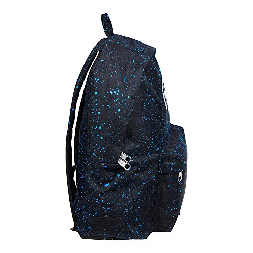 Just Hype hype bag kit - Bolso al hombro de Poliéster para hombre Talla única Splatter Black / Sky