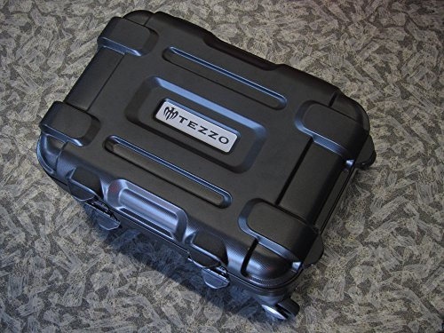 TEZZO トラベルキャリーケース FP-34 (ブラック) <受託手荷物対応 機内持込可> 大容量 TSAロック搭載 耐衝撃 B06WD7Y6Y3