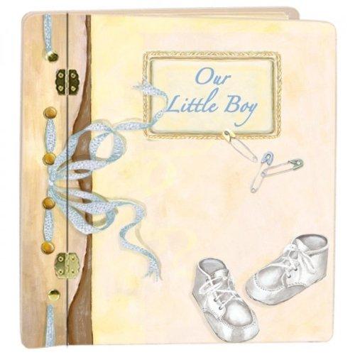 Lexington Studio ''Journal Book Baby Boy'' Album, Large, Yellow
