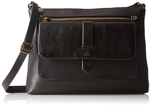 Fossil Kinley Crossbody, Black, One Size by Fossil