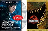 Steven Spielberg 2-Movie Bundle - Jurassic Park (Widescreen Collector's Edition) & Minority Report (Two-Disc Widescreen Edition) 3-Movie Bundle