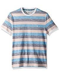 Men's Short Sleeve Rev Feeder Stripe Tee