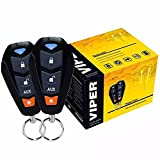 VIPER 3400V 3-CHANNEL 1-WAY CAR ALARM VEHICLE SECURITY KEYLESS ENTRY SYSTEM 2 REMOTES SHOCK SENSOR & SIREN